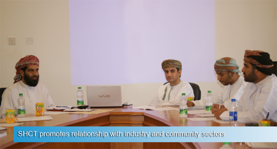 SHCT promotes relationship with industry and community